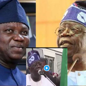Flashback Video: See What Tinubu Said About Ambode In 2017 That Has Sparked Reactions Online