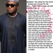 Rapper CDQ Reacts After He Was Attacked In His Lagos Residence by NDLEA Operatives