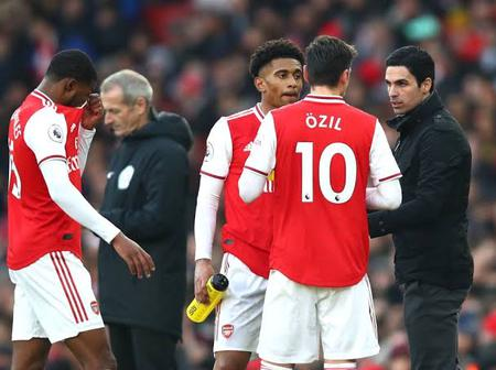 Arteta Gives Update on Ozil, Guendouzi and Aubamenyang Ahead of Manchester's City Clash
