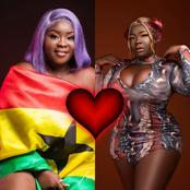 Maame Serwaa Puts Her Huge Shapes & Big Chest On Display To Thrills Her Fans (Photos)