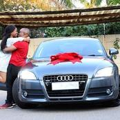 Husband buys his wife a luxury car, see pictures :Opinion