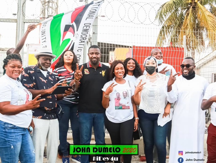 ff2b80378695bee17a614f992b19d5da?quality=uhq&resize=720 - John Dumelo And Hon Lydia Alhassan Celebrities Campaign Team, Who Is More Influential? (Photos)
