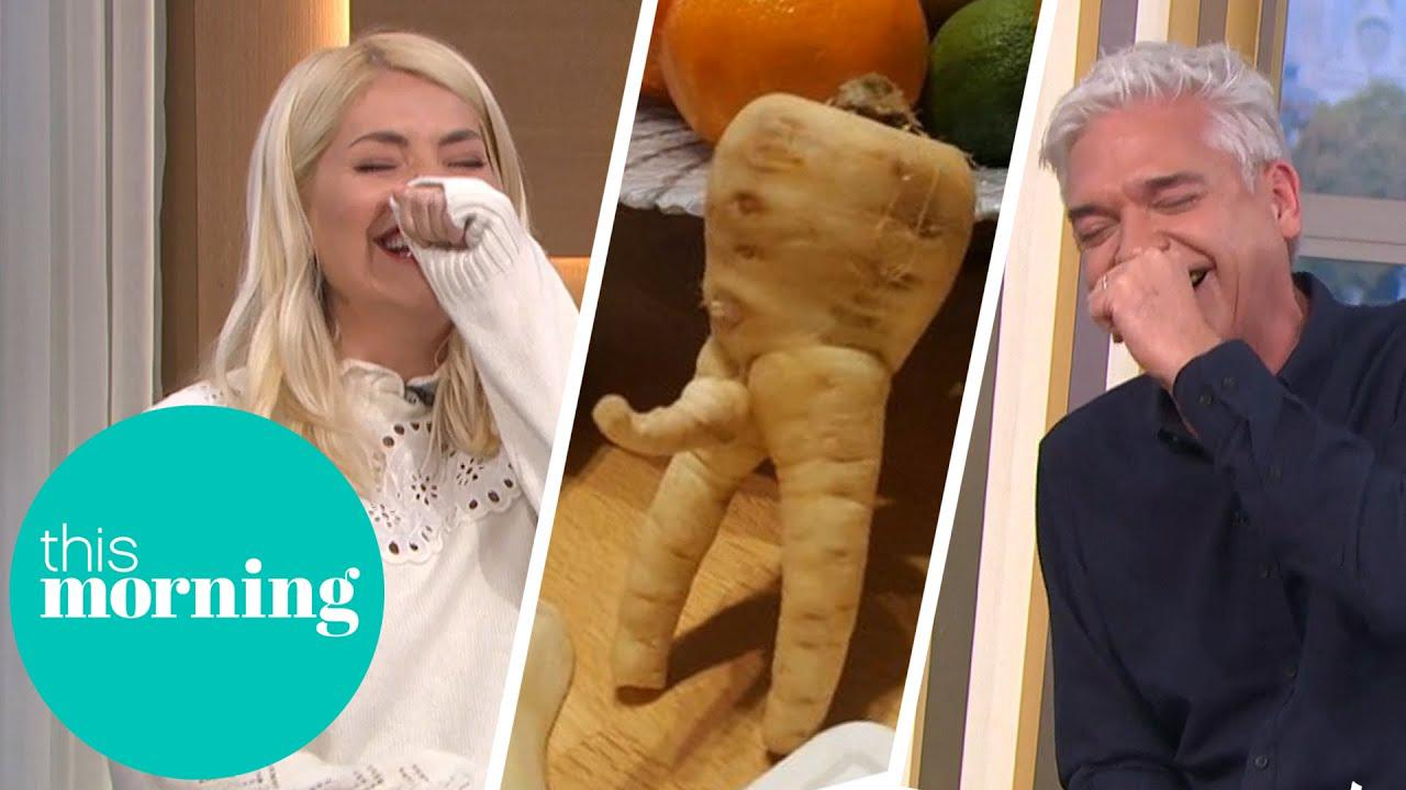Phillip & Holly Lose It Over Rude Vegetables