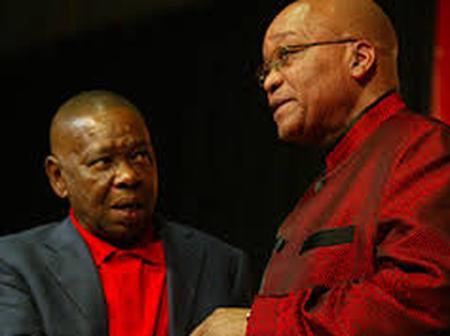 Watch Zuma tell Nzimande stop or will expose his dark secrets inside closets publicly