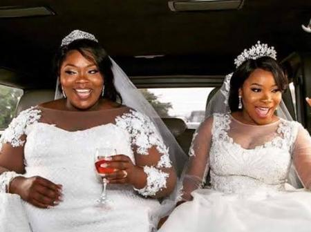 Meet the Twin Daughters of Governor Hope Uzodinma, They Got Married the Same Day