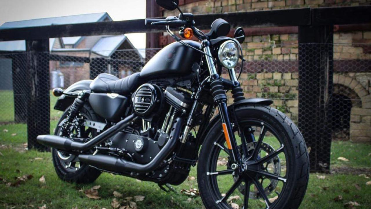 Harley-Davidson Iron 883 Takes Six Months to Turn Into This Thing Here