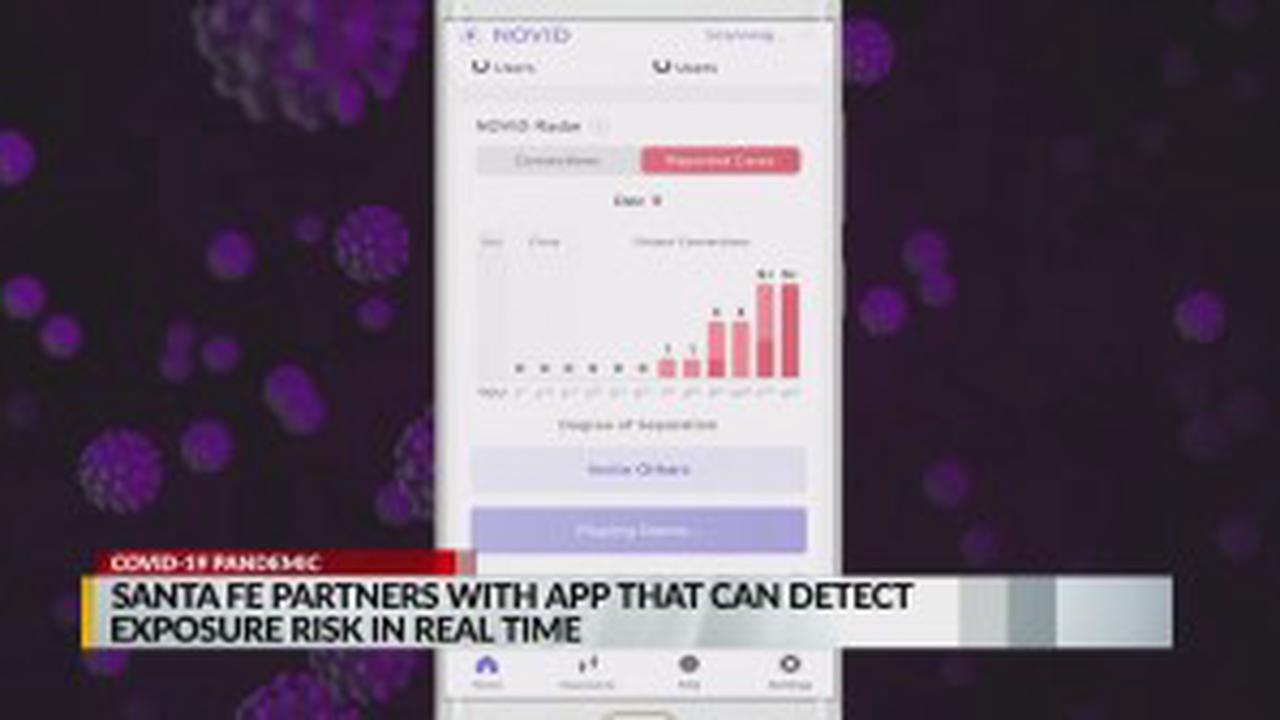 Santa Fe partners with NOVID app to slow COVID-19 spread