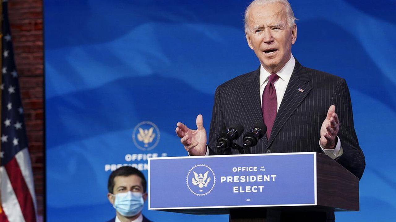 Biden calls transportation nominee Buttigieg 'a new voice'