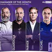 EPL Manager of the Month Nominees Announced, Chelsea New Manager Made it to the List