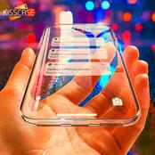 Convert Your Mobile Phone To Look Transparent By Using This Secrets App.
