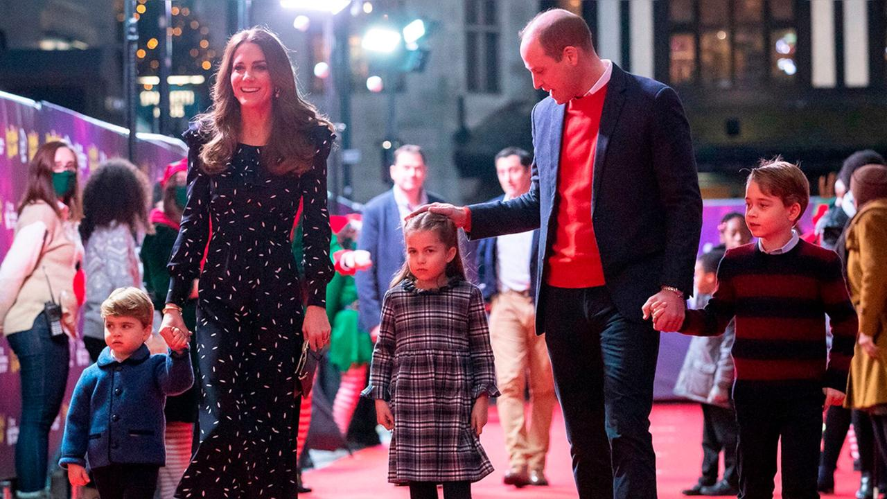 All smiles! Prince William and Kate Middleton share 2020 family Christmas card