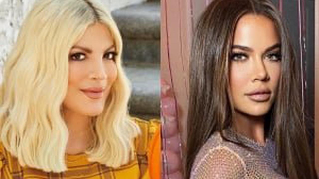 Tori Spelling Denies Having Plastic Surgery to Look Like Khloe Kardashian: 'It's All Contouring'