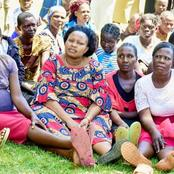 This Is What Kenyans Noticed After Senator Omanga Was Captured Seated Down With Kabuchai Women