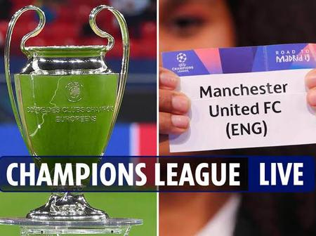 Uefa Champions Leagues Draw In Full- As United Got PSG, Barca To Face Juventus