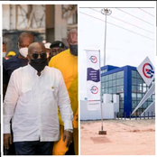 President Akuffo Addo's Dream Of Industrializing Ghana Is Becoming A Reality; See This New Factory