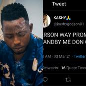 Check Out The Last Thing Kashy Said On Twitter Before He Allegedly Committed Suicide