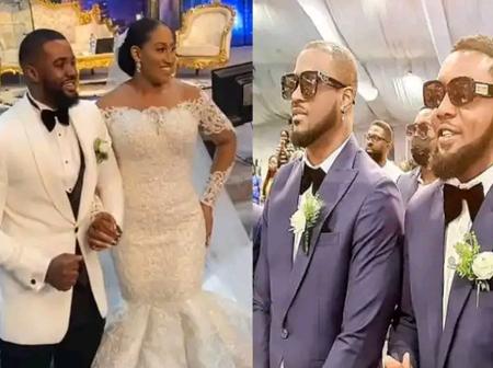 Top Nigerian Celebrities Officiate Groomsmen Duties At Williams Uchemba's Wedding