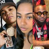 American Rapper Finally Breaks Silence On Davido's Alleged Relationship With Her Ex-girlfriend