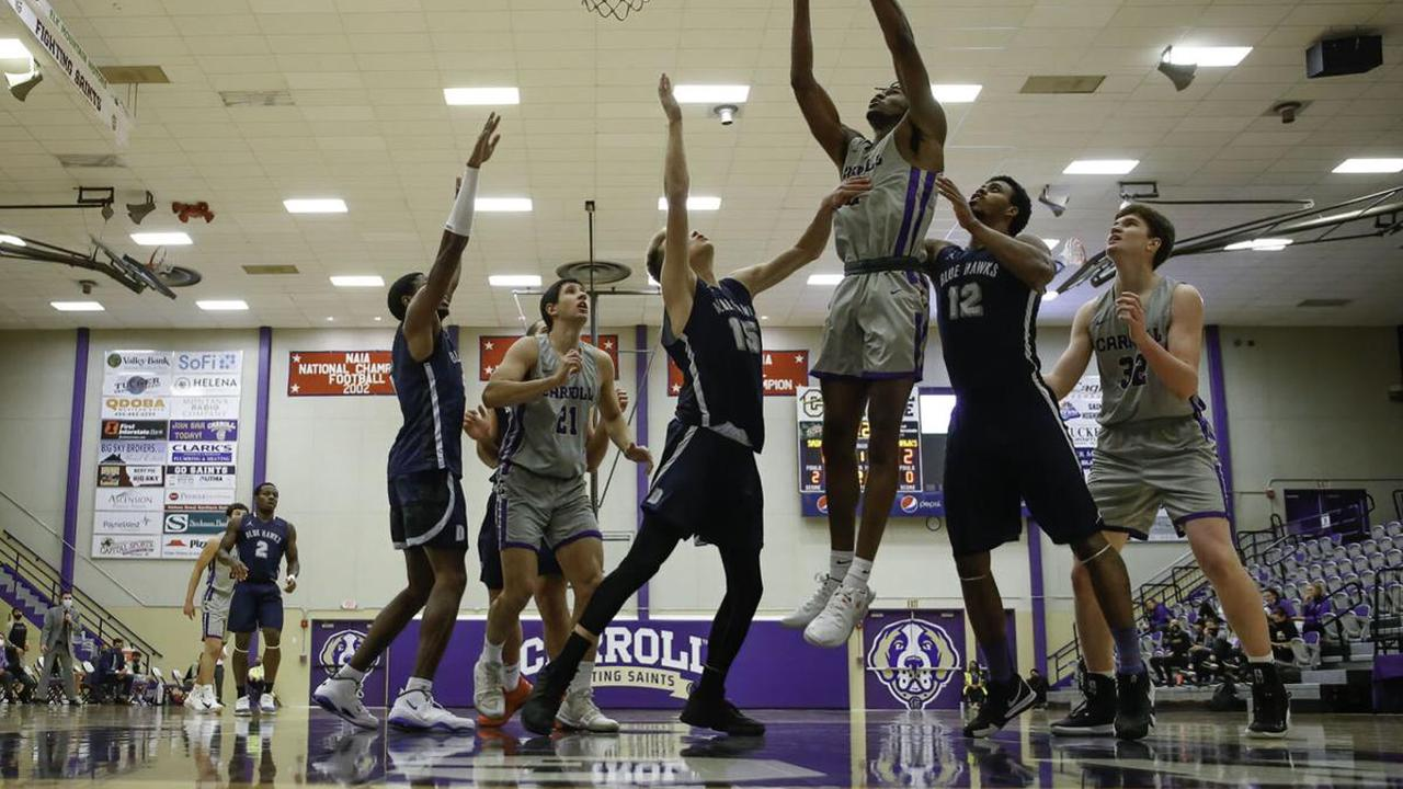 No fans, no problem: Carroll basketball sweeps Dickinson State in home debut