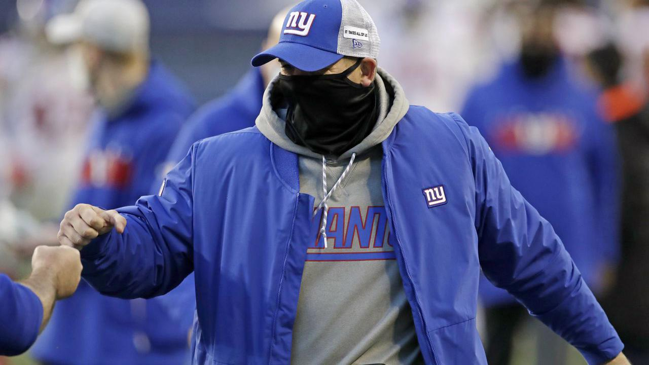AP source: Giants fire offensive line coach Marc Colombo