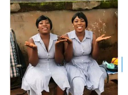 Meet 2 Nollywood Actresses Who Look Like Identical Twins But Not Related In Anyway