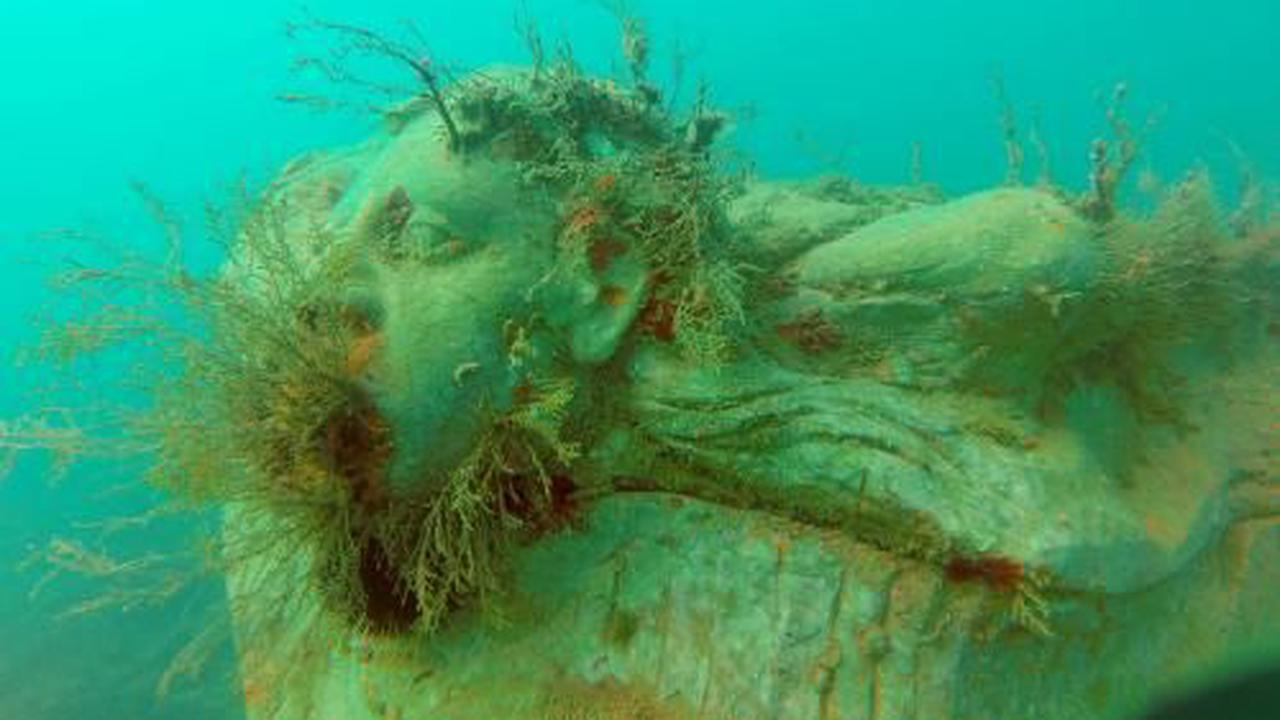 Underwater museum: how 'Paolo the fisherman' made the Med's strangest sight