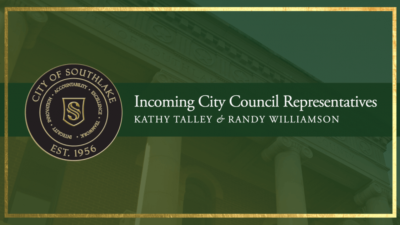 Talley, Williamson to Take Oath of Office at November 17 Council Meeting