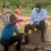 B/R: MCE Visits Organic Agricultural Training Field At Atesikrom