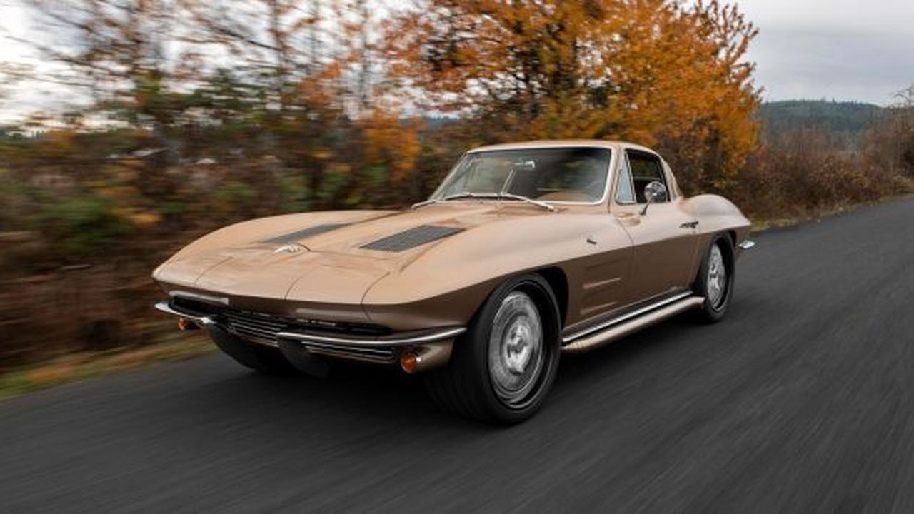 1964 Corvette Makes Top 12 Finalists For SEMA Battle Of The Builders