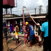 Ben Akak Foundation Commences Work At The Borehole Drilling Site At Watt Market Calabar