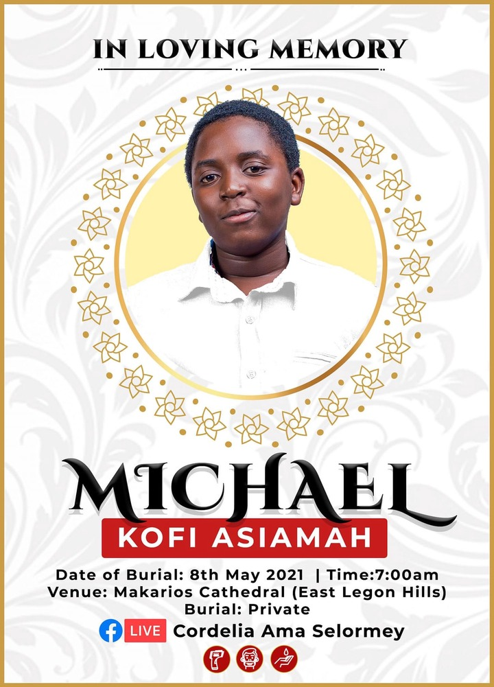 ff998110067c4a35aefc86f61ad65dd1?quality=uhq&resize=720 - Popular 13-Year Old Talented Singer, Kofi Asamoah Who Died Of Brain Tumor Finally Goes Home