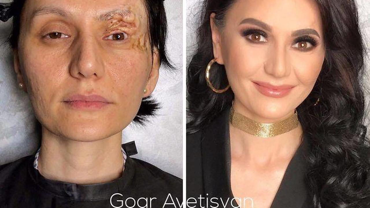 """46 Incredible Makeup Transformations That Prove """"Every Woman Is A Hollywood Star"""" (New Pics)"""