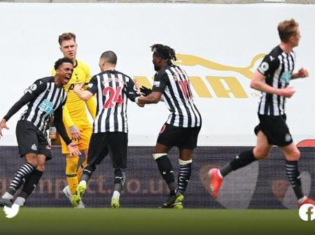 Newcastle dent Spurs top-four hopes