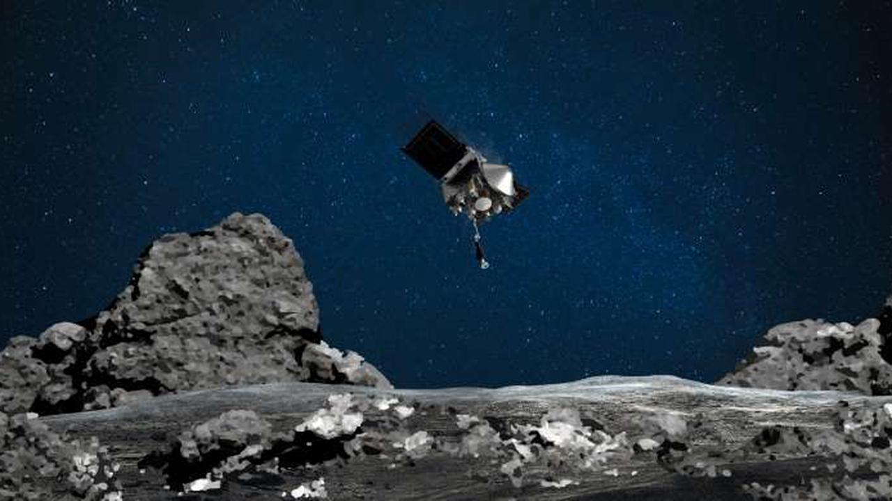 NASA to launch delicate stowing of Osiris-Rex asteroid samples