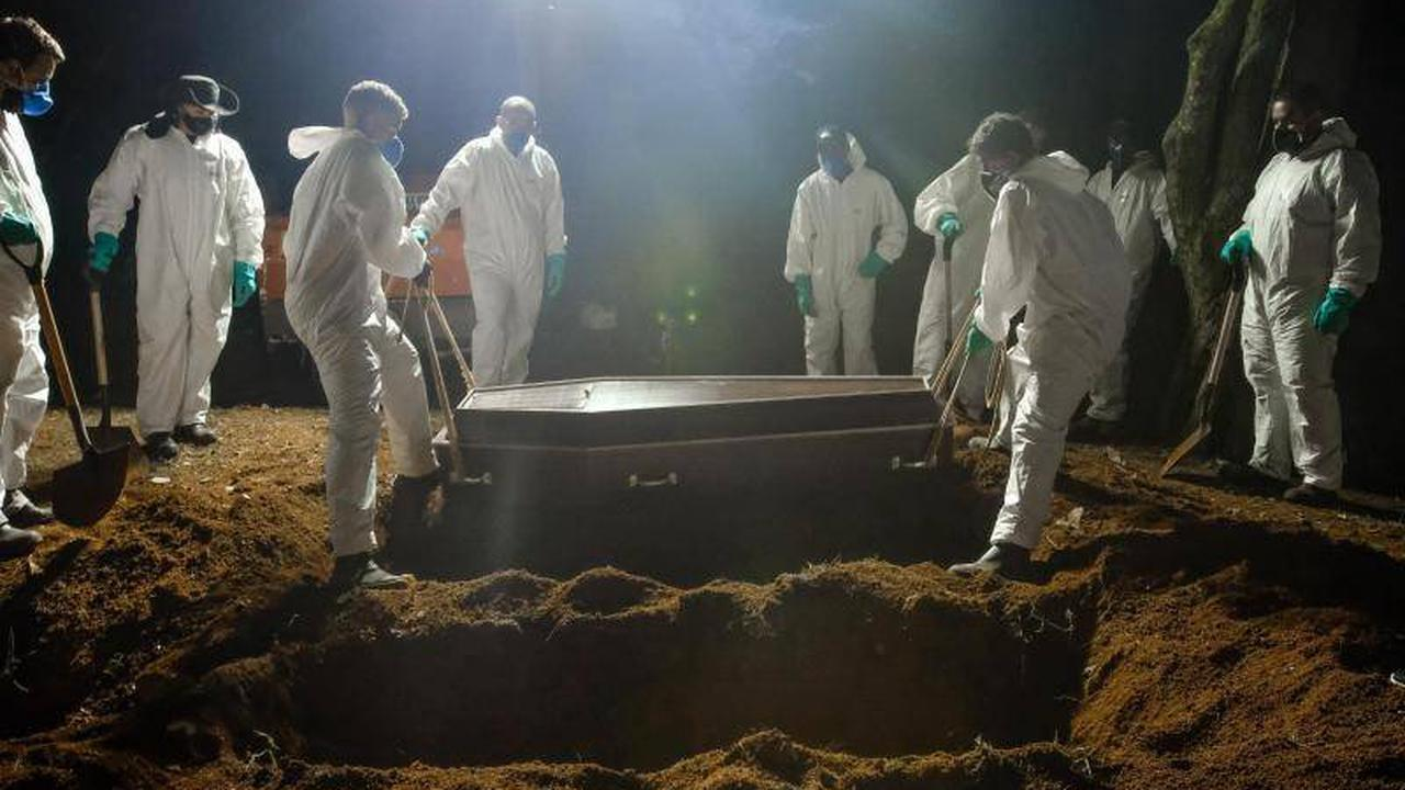 Pandemie-Opfer: Über eine halbe Million Corona-Tote in Brasilien