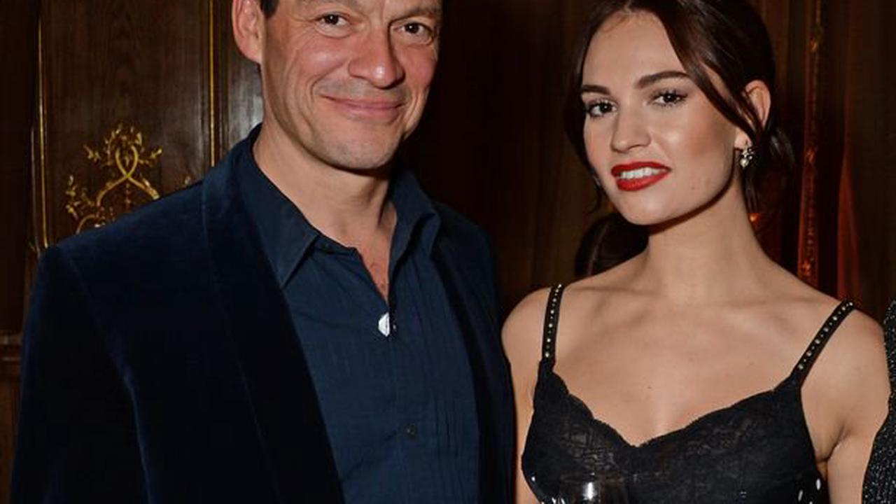 Dominic West tells wife he will 'never see, speak or work with' Lily James again