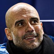 EPL- Checkout Pep Guardiola's Amazing Record By Numbers This Season