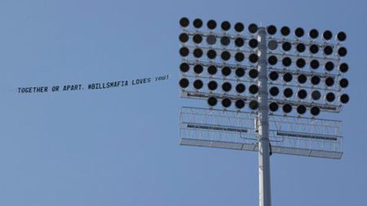 Bills Mafia fundraises over $5k to fly banner over stadium for Sunday's game vs. Rams
