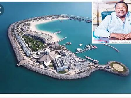 Money is Good, See Photos Of Mike Adenuga's Mansion In banana island
