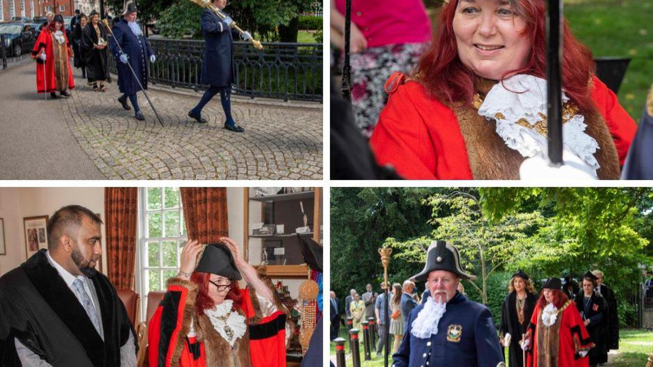 High Wycombe's new mayor is officially elected in low-key ceremony