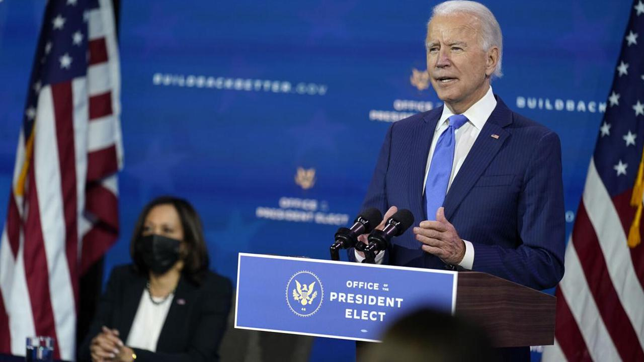 The Latest: Biden gives dire virus warning for next 2 months