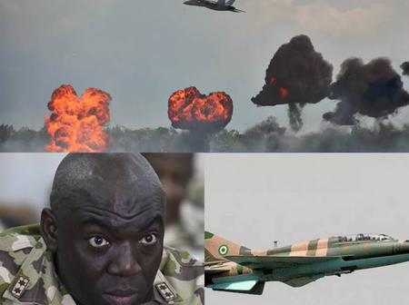 Nigerian Army Finally Breaks Silence On Air Strike In Akwa Ibom, Reveals Why Aircraft Was Deployed
