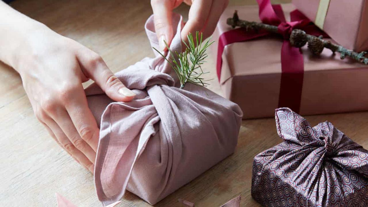 Why reusable cloth could consign Christmas gift wrap to the bin