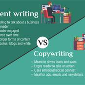 Three (3) Reasons Why Copywriting is Totally Different from Content Writing