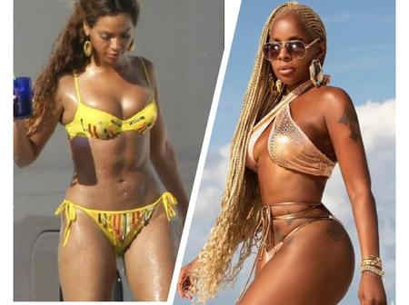 Between Beyonce And Mary J. Blige, Who Slays Better On Bikini Outfit? (Photos)