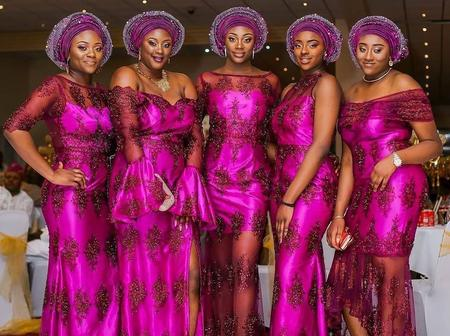 Enhance Your Style This Easter With These Splendid Asoebi Styles