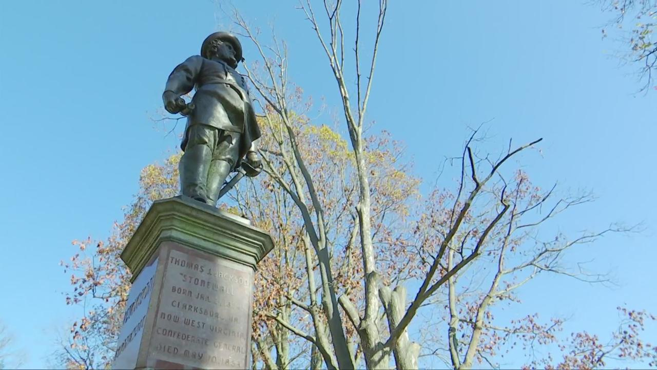 Case heard by Capitol Building Commission to remove Stonewall Jackson statue