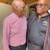 Hlaudi Motsoeneng Paid A Visit To Jacob Zuma