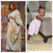 Mercy Johnson Laments Over Her 9 Months Daughter's First Word