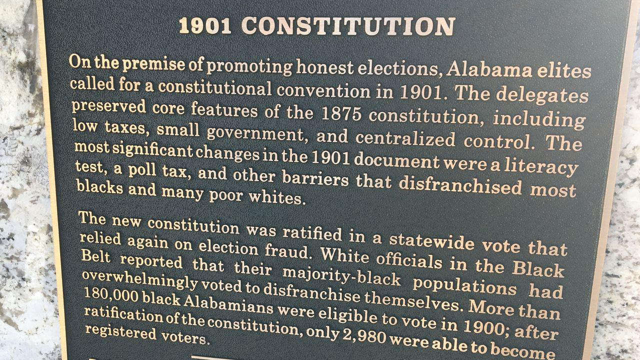Voters could remove racist phrases from Alabama Constitution